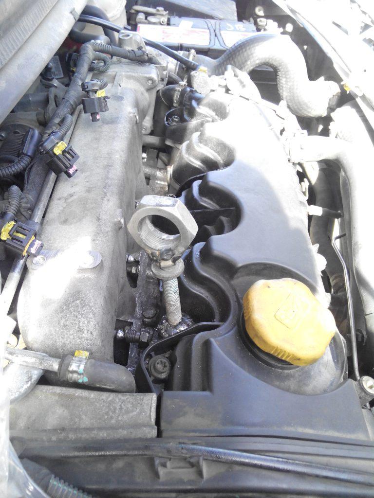Opel 1.9 8V injektor kiszedés