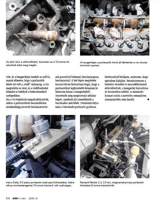 Autotechnika újságban megjelentünk ( 2015/9)