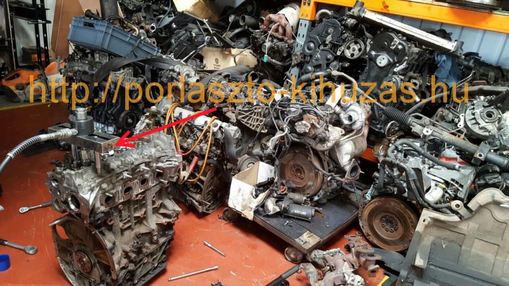 Renault 2.0 dci m9r motorok porlasztó kiszedés