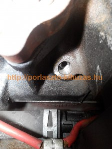 Ford 1.8 Tdci izzítógyertya kifúrás