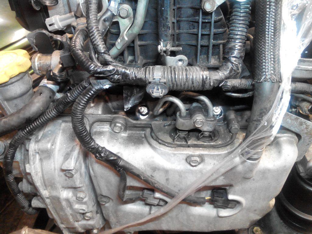 Subaru törött izzítógyertya kifúrás kiszedés.